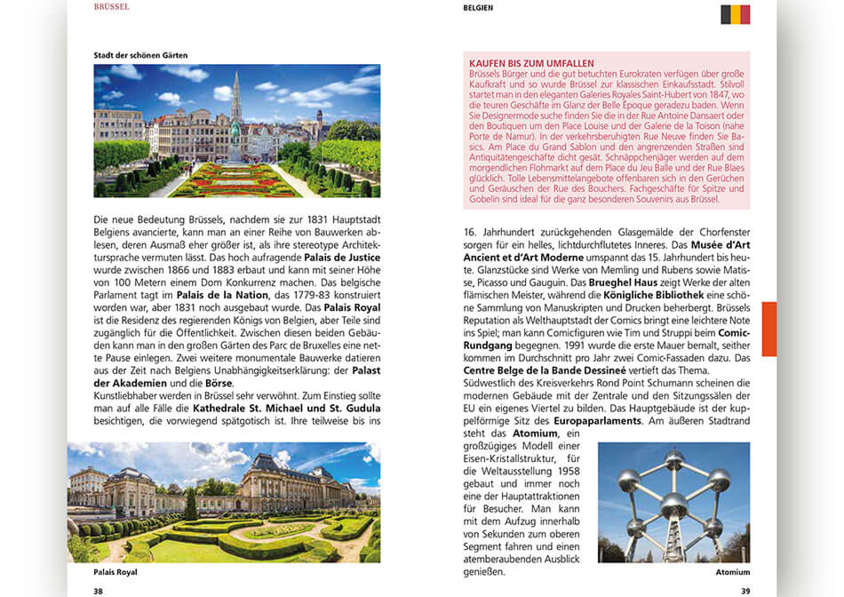 Travel guide Rhine inner page 3