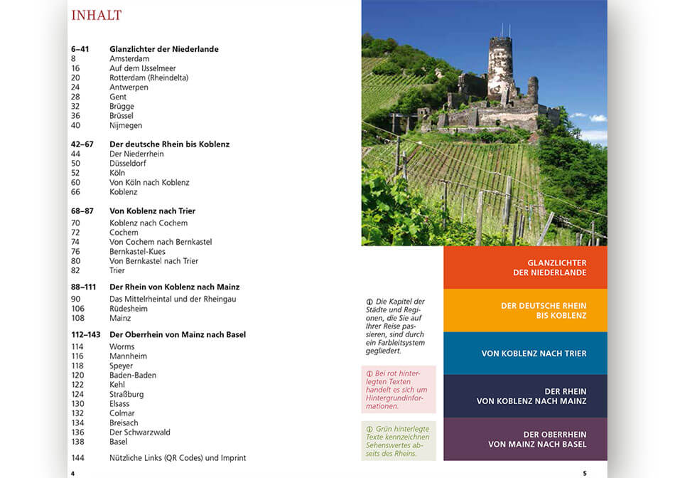 Travel guide Rhine inner page 4