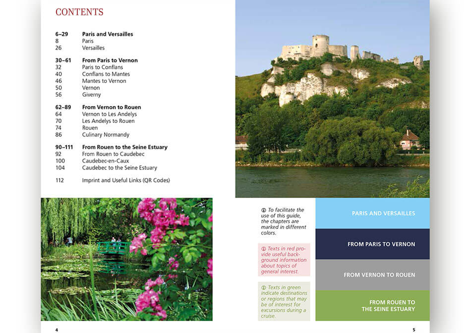 Travel guide Seine inner page 2
