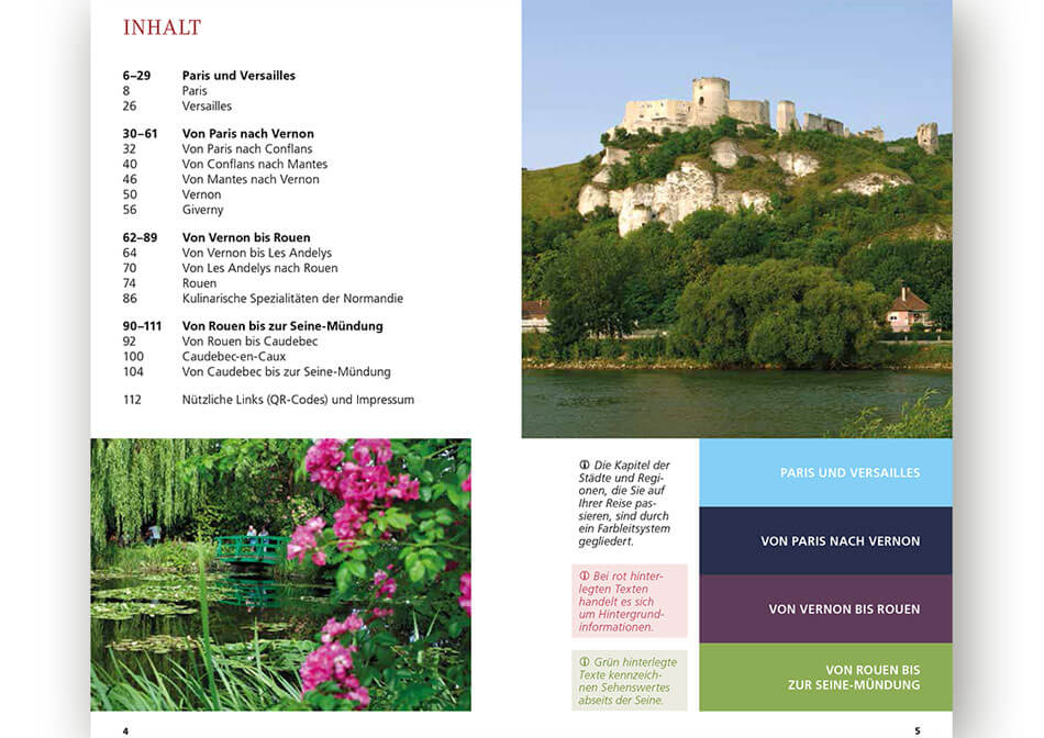 Travel guide Seine inner page 4